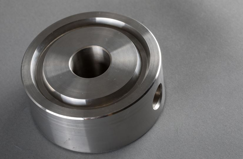 a bleed ring, also known as a drip ring, fabricated by Delta Machine & Ironworks.